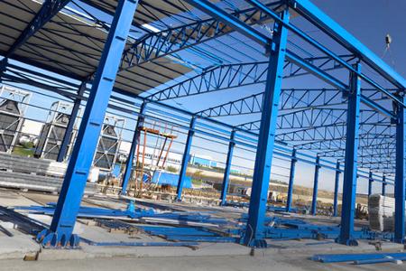 konstruksi atap baja ringan